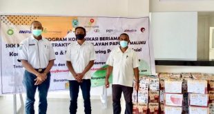 SKK Migas dan Kontraktor Kontrak Kerja Sama (KKKS) Wilayah Papua dan Maluku terus melanjutkan kegiatan Komunikasi Bersama dan dukungan Jaring Pengaman Sosial.