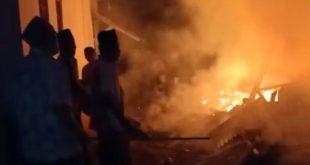 Kebakaran Rumah di Arjasa Kepulauan Sumenep