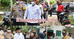 KSJ Bersama Bupati dan Kapolres Terus Salurkan Ratusan Bantuan Paket Sembako