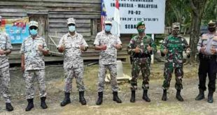 """""""Maritim Malaysia Wilayah Sabah, Tinjau Patok PB 02 Perbatasan"""""""