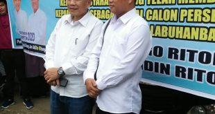 5 Pasangan Cabup dan Cawabup Kabupaten Labuhanbatu Selatan ambil nomor urut diKPU kabupaten