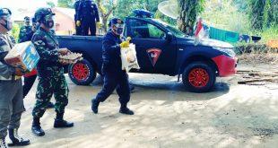 Satbrimob Aceh Batalyon C Kembali Lakukan Kegiatan Bhakti Sosial Bersama TNI-POLRI Dan Satpol-PP Kota Subulussalam