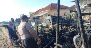 Diduga Akibat Puntung Rokok, Dapur Milik Buweni di Sumenep Terbakar