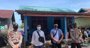 Polsek Singkep Barat Lakukan Pengamanan Kampanye dan Imbauan Protokol Kesehatan