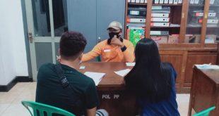 Satpol PP Kota Kediri , Mengamankan Pasangan Mesum di Kota Kediri