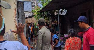 Kebakaran Rumah Terjadi Di Kelurahan Semampir kota Kediri