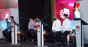 Debat Terakhir Calon Bupati Dan Calon Wakil Bupati Lampung Timur Tahun 2020