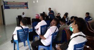 Agar lebih cepat dan mudah dalam melayani masyarakat, Desa tegal pasir mengadakan pelatihan SIMDES