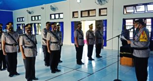 Kapolres Aceh Singkil Pimpin Sertijab Kasat Lantas Dan Sejumlah Kapolsek