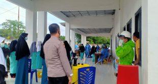 Monitoring Pengecekan Rapid Test Kepada Santriwan/Santriwati Pondok Pesantren Mahad Tahfiz Hidayatul