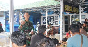 Letkol Nav Rudy Hartono Danlanud H.AS Hanandjoeddin, Jalin Silaturahmi Bersama Wartawan