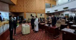 Robinson Totong,Dilantik Jadi Anggota DPRD PAW