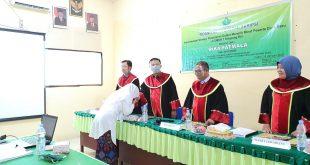 Ketua LPPM Baginda Nasution SH.MM Jadi Penguji II Dalam Sidang Munaqosah STIT HAFAS Kota Subulussalam