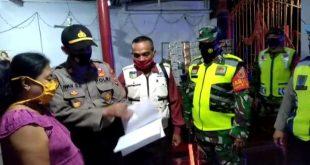Kodim 0809/Kediri dan Polres Kediri Mengadakan Giat Oprasi Yustisi
