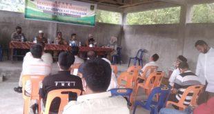 Penyuluhan Dan Sosialisasi PRA Sertifikasi Program PTSL 2021 Digelar Di Desa Lae Oram