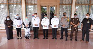 Dalam mengahiri masa jabatan nya Gubernur jambi kunjungan kerja ke Kab Bungo.