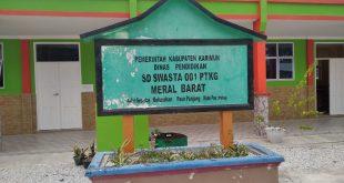 Kepsek SD Swasta 001 PTKG Berharap Pemda Karimun Bantu RKB