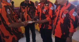 Rapat Kerja Majelis pinpinan Cabang Pemuda Pancasila, sekaligus Adakan pengukuhan Ketua Koti dan PAC Kab. Labusel
