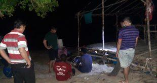 Penangkapan Ti ilegal Di Laut Mengkubung Desa Riding Panjang.