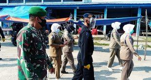 Tim Gabungan TNI-POLRI Rutin Lakukan Operasi Yustisi Penertiban Penyerapan Protokol Kesehatan Covid-19