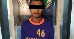 Pemuda Asal Kandangan Dibekuk Satresnarkoba Polres Kediri Diduga Edarkan Sabu