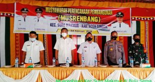 Kecamatan Suro Makmur Gelar Musrenbang Perencanaan Tahun 2022