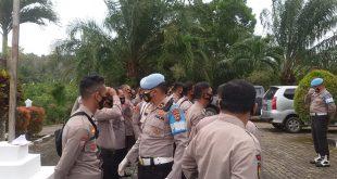 Bid Propam Polda Kep. Babel Melakukan Pengecekan test Urine dan Penekanan Narkoba Di Polsek Riau Silip.