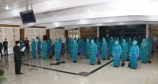 Bupati Lantik Pengurus TP PKK dan Dekranasda Lampura
