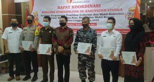 Bawaslu Lingga Menggelar Acara Rapat koordinasi Bersama Stakeholder Se- Kabupaten Lingga