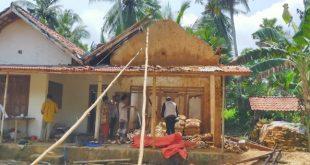 Rumah Milik Warga Desa Tamedung Terbakar, Puluhan Juta Hangus
