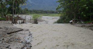 Diterjang banjir,dam sabu jebol, petani desa Bungin gagal cocok tanam dan panen….