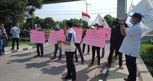 Aksi Damai di Kejati Sumsel, LSM RIB dan SCW Kabupaten OKU Laporkan Dugaan Tindak Pidana Korupsi di Beberapa OPD Kabupaten OKU