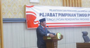 Wakil Gubernur Lantik Eselon II Pejabat Dilingkungan Pemda Provinsi Bengkulu.