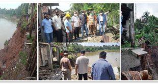 Menunggu Waktu Saja Ikut Tergerus Sungai, Warga Berharap Upaya Pemerintah Daerah