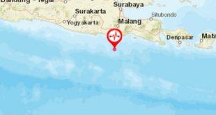 GEMPA Berkekuatan 6,7 magnotudo Gocang Jawa Timur.