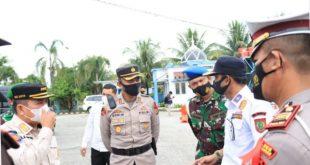 Operasi Ketupat Kota Subulussalam 2021, Jalur Masuk Aceh-Sumut Posko Pengamanan Dibentuk
