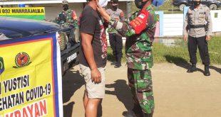 OPS Ketupat Polri- TNI, Polsek Krayan Lakukan Penyekatan
