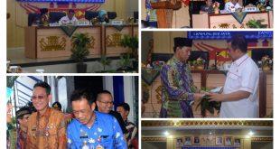 Plt. Bupati Lampung Utara, H. Budi Utomo, SE., M.M., membuka(MUSRENBANG) Rencana Kerja Pemerintah Rancangan Akhir RPJMD Kabupaten Lampung Utara Tahun 2019-2024, di Aula Tapis