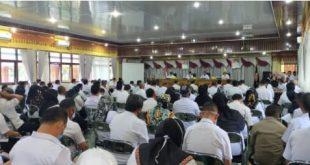 Bupati Lampung Barat Imbau Semua pihak mematuhi protokol kesehatan.