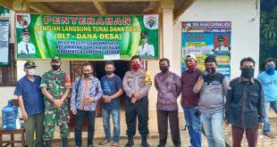 Desa Negeri Campang Jaya Bagikan BLT Tahap 3 Kepada Masyarakat
