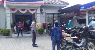 Guna Meningkatkan Rasa Aman Nasabah Bank Polsek Kandat Tingkatkan Patroli