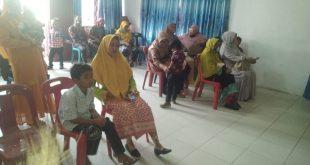 Pelantikan dua Penjabat Kepala Desa DiKecamatan Torgamba, Kabupaten Labuhanbatu Selatan DiAula Kecamatan Torgamba.