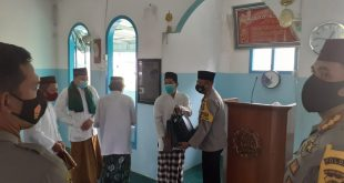 Safari Jum'at Kapolda Babel Baserta PJU Babel Di Masjid Al Amin Pangkalpinang