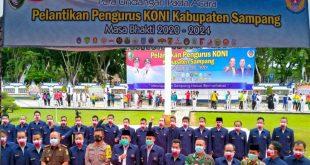 pelantikan pengurus Koni 2020-2024, Tuai Kritikan GPN