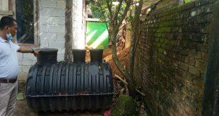 Proyek pembuatan wc untuk warga sumber dana APBN diduga ada problem.