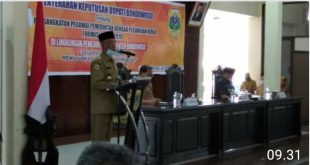 Bupati Bondowoso Serahkan SK 312 PPPK ,Guru dan PPL Setara ASN.