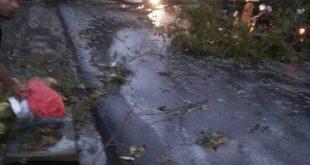 OKU Dilanda Hujan Lebat Serta Angin Kencang Puting Beliung