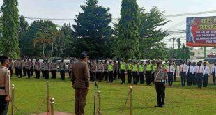 Apel Gelar Pasukan Operasi Ketupat 2021 Dibuka,Kerahkan 265 Orang Petugas Keamanan