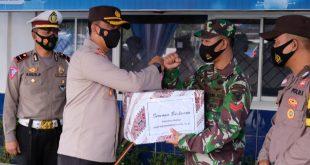 Jelang Lebaran Kapolres Bungo Dan Dandim 0416/Bute Cek pos Pengamanan dan Pelayanan OPs ketupat 2021